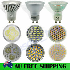 4 12X 5/6/7/9/10/15W LED Spot Downlight Bulbs High Power SMD GU10 Day/Warm White