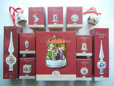 Hutschenreuther 2014 INDIVIDUAL SALE: Bell Ball Pine cone Boot Light Music box