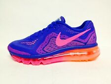 Nike Air Max 2014 Wmns Running Shoe GAME ROYAL/HYPER PINK-BRGHT MNG (Sz 6.5-9.5)