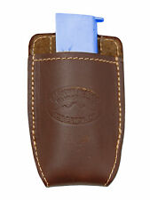 NEW Barsony Brown Leather Magazine Pouch for Sig-Sauer Walther Mini 22 25 380