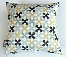 KYOTO GARDEN CROSS BLUE BLACK SCATTER CUSHION COVER BED SOFA THROW PILLOW SALE!