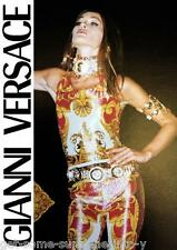 Atelier Gianni Versace Lurex Bodysuit & Studs Leggings Tight Jumpsuit 1992