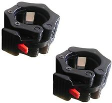 One Pair NEW Lock-jaw Lockjaw Lock Jaw Collars For Olympic Barbells Clamps Bar
