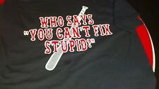 HELLS ANGELS SUPPORT T-SHIRT STUPID CLEARANCE