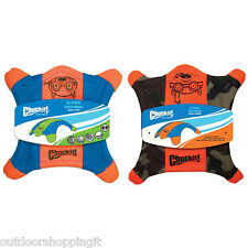 Chuckit Flying Squirrel - Durable Rubber Feet For Easy Pick-Up, Floats In Water