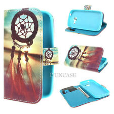 Wallet Flip D91 Skin Leather Case For Samsung Galaxy + 2 Gift