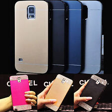 For Samsung Galaxy S3 S4 S5 S6 Note 2 3 4 Luxury Aluminum Metal Hard Case Cover