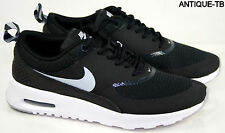 NIKE WOMENS AIR MAX THEA NEW 599409 007 BLACK WOLF GREY ANTHRACITE WHITE HOT