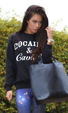 NEW WOMENS COCAINE & CAVIAR JUMPER SWEATSHIRT ADULT COKE BOYS YMCMB T SHIRT 8-14