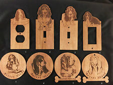 Dogs , any breed , Laser engraved ornament or Refrigerator magnets (part 2)