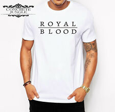 Royal blood t shirt - figure it out - come on over - little monster - music tee