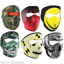 Zanheadgear Full Face Neoprene Mask - Ideal For All Weather Conditions