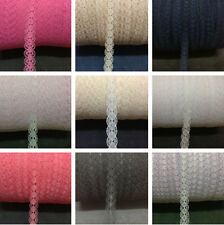 Unique! 10 yards net lace ribbon embroidery nine colors to choose from