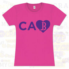 JUSTIN BIEBER Tour USA States Love Juniors CA California T-Shirt Pink Tee