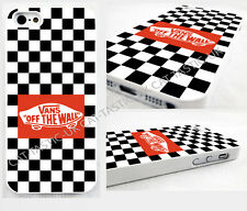 case,cover fits iPhone and samsung models Stickerbomb vans off the wall red.