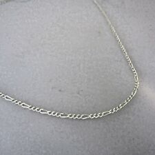 """.925 Sterling Silver 2 mm LIGHT FIGARO CHAIN 16-24"""" Made in Italy 050 NEW 925"""