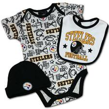 PITTSBURGH STEELERS CREEPER SET - 3-6 MONTH - BRAND NEW W/TAGS