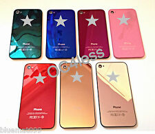 Genuine Glass Replacement Back Mirror iPhone 4 4S Battery Cover Case Housing