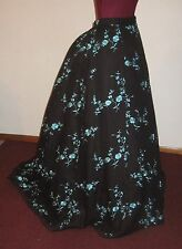 1869 Grand Parlor Skirt Civil War Victorian/Bustle Era/ Steampunk/Edwardian