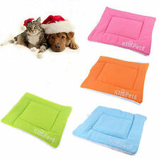 Dog Cat Pet Crate Kennel Warm Bed Mat Padding House Cozy Small Medium Large