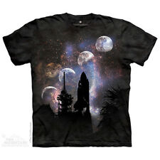 Columbia First Launch Sts-1 Mission T-Shirt by The Mountain. Space S-5XL NEW