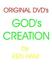 Brand New DVD Original GOD's Creations Series by Ken Ham - Answer in Genesis