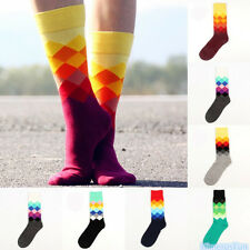 Fashion Unique Women/Men Lovely Multi Color Cute Cotton Character Socks 6 Colors