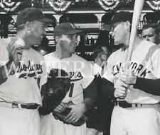 AD213 Mickey Mantle Duke Snider PeeWee Reese 1956 WS 8x10 11x14 16x20 Photo