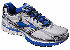 Brooks Adrenaline GTS 14 Mens Running Shoe - Wht/Electric/Slvr  Multiple sizes
