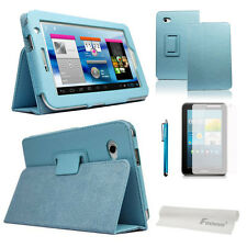 4-in-1 PU Flip Case Guard Pen for Samsung Galaxy Tab 2 7.0 P3100/P3110/P3113