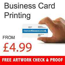 Business Cards - 350gsm card - Single sided Printed by Print Shop Manchester