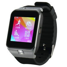 GV09 Stell Bluetooth Touch Screen Camera Smart Mobile Wrist Watch Phone SIM Card