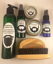 Aromaman All-Natural Beard Balm or Oil Choose Scent/Size MENS GIFT CHRISTMAS