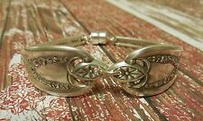 Old Colony - 1911 Vintage Silver Plated Silverware/Flatware Spoon Bracelet