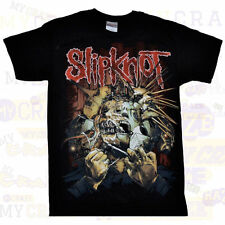 SLIPKNOT Heavy Metal Rock Official Merchandise Black T-Shirt