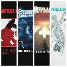 METALLICA KILL EM ALL RIDE THE LIGHTNING MASTER OF PUPPETS JUSTICE NEW T-SHIRTS