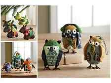 Set of 3 Penguin ,Dog or Owls Christmas Tree Ornaments Company Store Hand Made