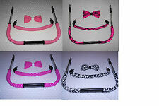 Bumper bar & Handle bar covers + Bow for Quinny Buzz3/4   My 4/ 3 Icandy