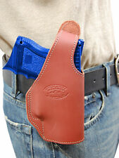 New Barsony Burgundy Leather OWB Holster Walther Compact, Sub-Compact 9mm 40 45