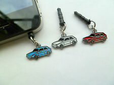 VW Mk 1 Golf Phone/MP3/Ipad Anti Dust Plug, Assorted Colours, Plastic, Silver Pl