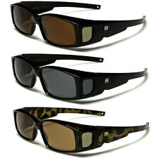 Polarized Sunglasses Fit Over Prescription Eye Glasses Fitovers with Side Shield