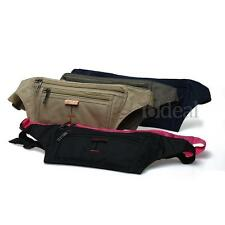 Men Women Waterproof Sport Waist Bum Bag Fanny Pack Purse Wallet Pouch