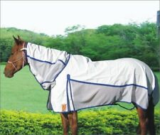 Capriole Ripstop Cotton Rose/R.Blue Summer Air-flow Hybrid Horse Rug Combo