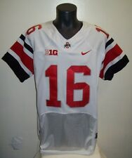 Ohio State #16 JT BARRETT Pro Combat Jersey WHITE Adult Sizes M L XL 2X 3X