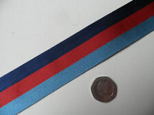 1939-45 Star, WWII medal,  Replacement Ribbon, Full Size [32mm]. Free Postage.