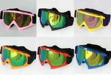 Ski Goggles Snowboard Snowmobile Motorcycle Off-Road Eyewear Color Lens Sunglass