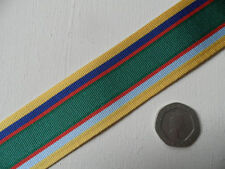 Cadet Forces Medal, replacement ribbon, full size. Free Postage
