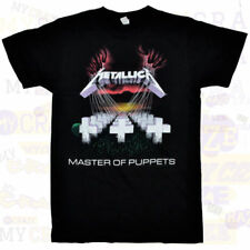 METALLICA Master of Puppets Black Cotton T-Shirt