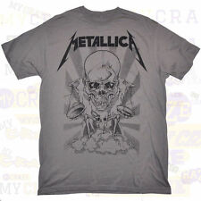 METALLICA Heavy Metal Guitar Band Skull Cotton T-Shirt