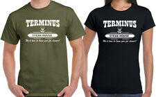 Terminus Steak House T-shirt Funny Walking Dead Zombie Apocalypse BBQ Size S-6XL